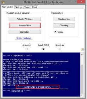 How to Activate Office 2010 with KmsAuto