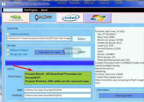 How to Flash Acer Z220