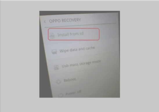 How to Flash Oppo A3s Using SD Card