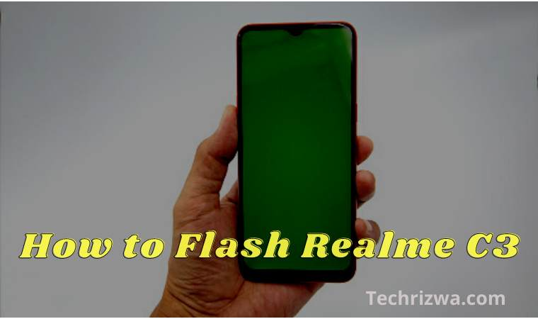 How to Flash Realme C3