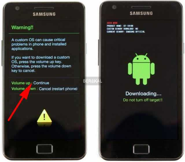 How to Flash a Samsung cellphone