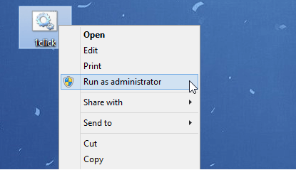 Now open Command Prompt using admin mode