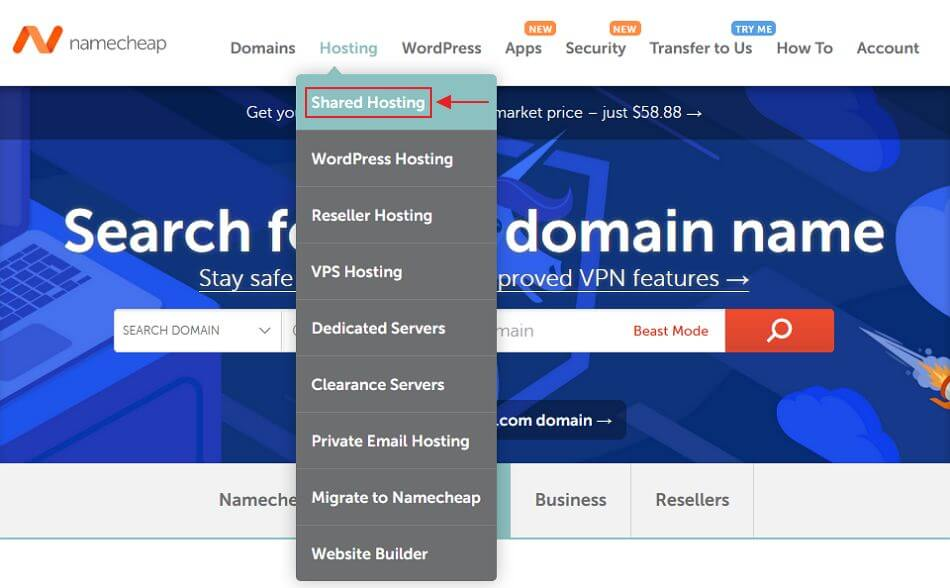 Guide to buying domains and hosting packages