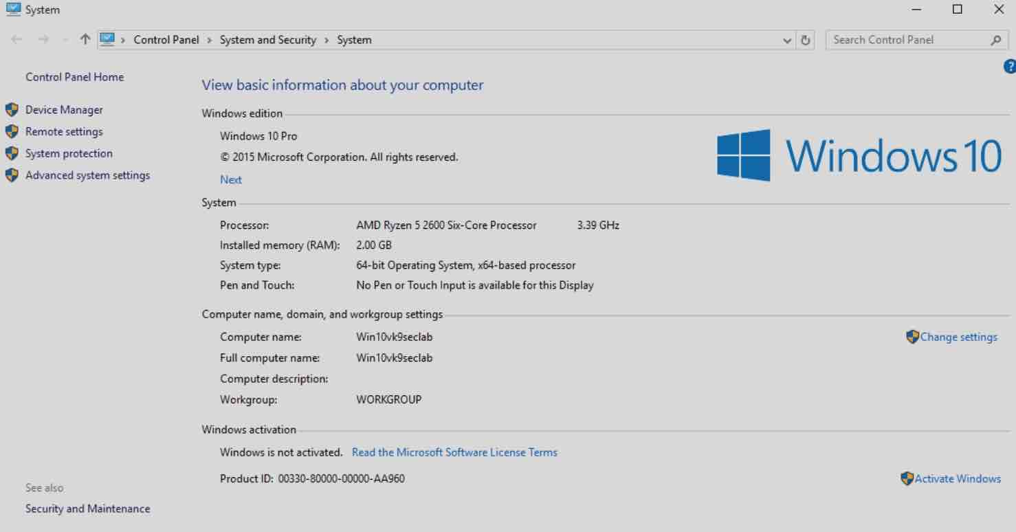 How to Activate Windows 10 Permanently