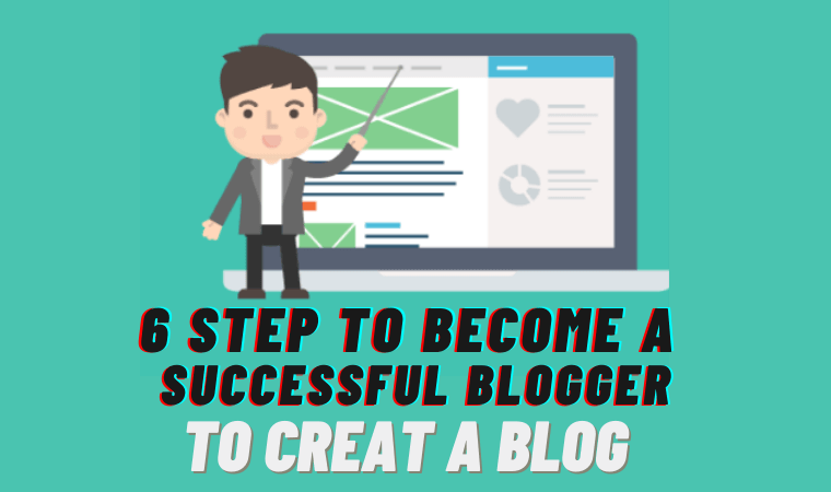 How to Create a Blog 2021 6 Steps to Become a Blogger [Free Guide] 2021