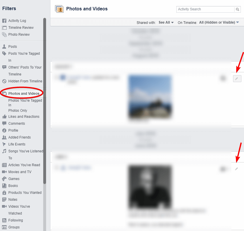 How to Delete Photos, Videos, and Albums on Facebook