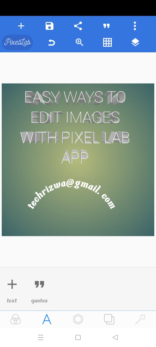 Easy Ways to Edit Images with Pixel Lab App 2021