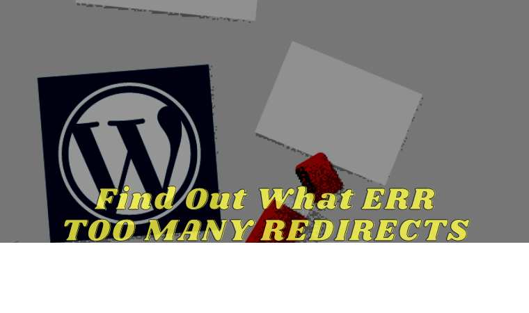 Find Out What ERR TOO MANY REDIRECTS is And How to Fix it