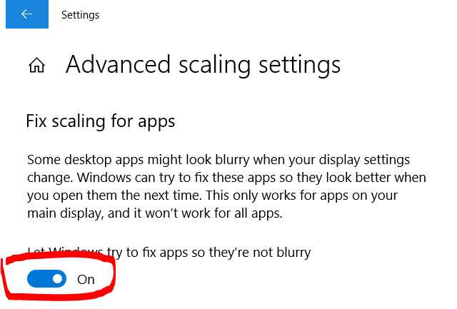 HOW TO FIX BLUR APPLICATION IMAGE ON WINDOWS 10