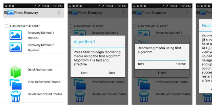 How to Restore Deleted Files Without Root Process on Android