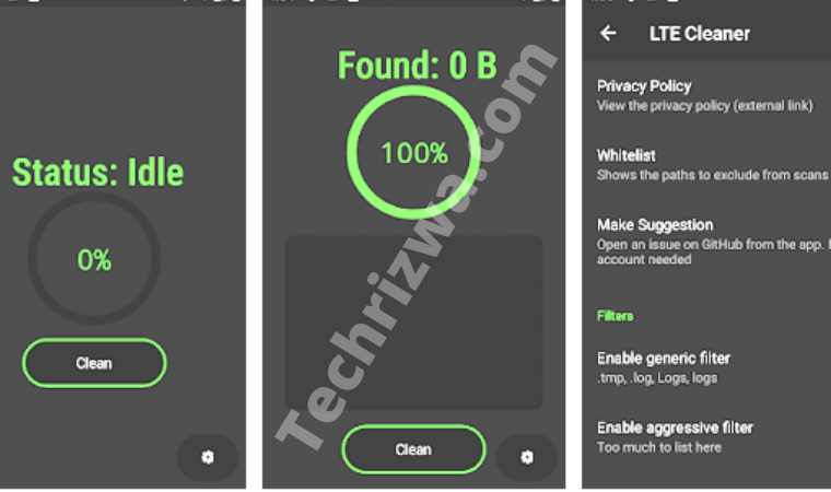 LTE Cleaner (Android)