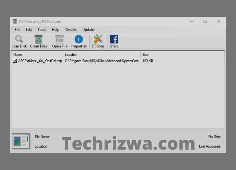 OS Cleaner (Windows)