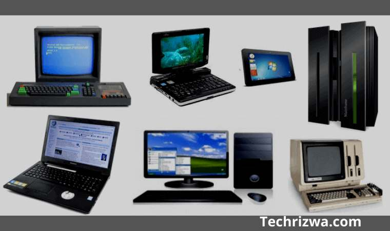 On the basis of size Computer Type
