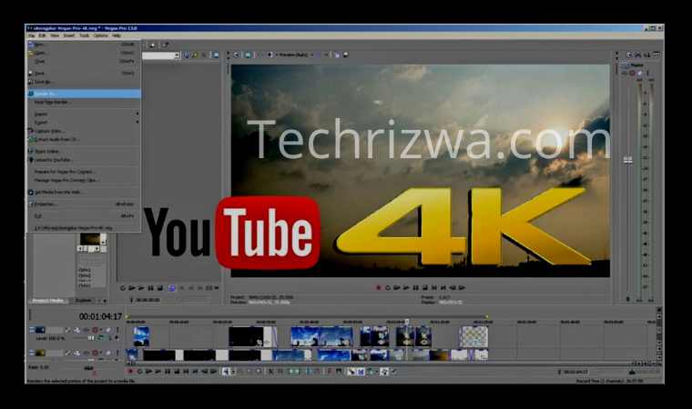 Using a 4K video downloader on a computer